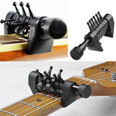 $ CDN13.51 • Buy Guitar Capo Acoustic Guitar Tuner ABS Clamp Musical Instrument Accessories