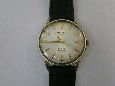 $ CDN196.84 • Buy Vintage Longines Admiral Automatic Watch Cal 340 1961