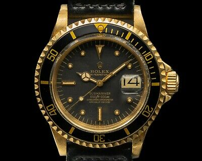$ CDN39335.27 • Buy Rolex 1680 Submariner 1680 Black Nipple Dial 18K Yellow Gold EXCELLENT CONDITION