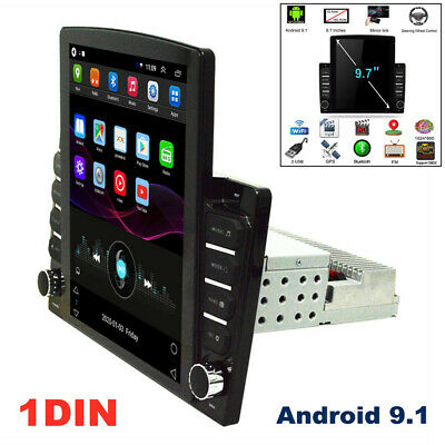 $229.59 • Buy 9.7'' 1DIN Android 9.1 Touch Screen GPS WIFI 1G+16G Car Stereo Radio MP5 Player