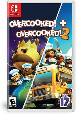 AU56 • Buy Overcooked 1 + 2 (Dual Pack) Nintendo Switch Brand New Sealed