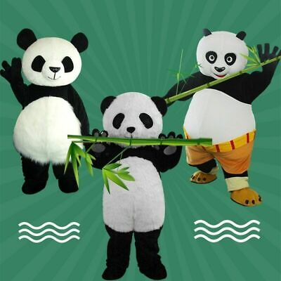 Panda Mascot Costume Suits Cosplay Party Game Dress Outfits Clothing Advertising • 125.58£
