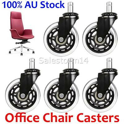 AU36.95 • Buy 5X Rollerblade Office Desk Chair Wheels Casters Replacement Rolling Caster OZ