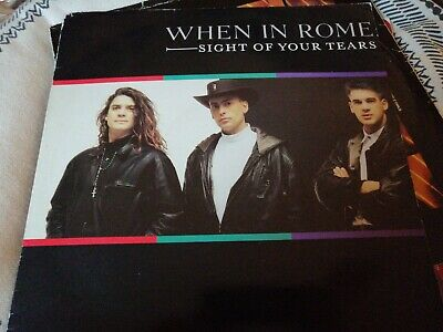When In Rome - Sight Of Your Tears - 12  Record Vinyl Single • 8.99£