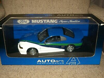 $ CDN249 • Buy Autoart Performance Ford Mustang Super Stallion Diecast Car 1:18 Boxed