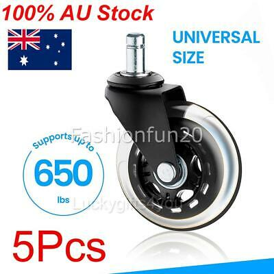 AU36.99 • Buy 5X Rollerblade Office Desk Chair Wheels Replacement Rolling Caster Grip Ring AU