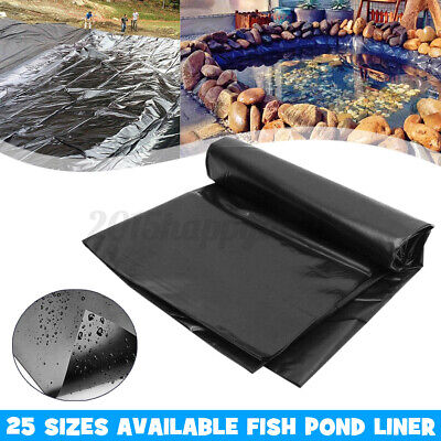 3x2.5m/10x8ft Fish Pond Liner Garden Pools HDPE Membrane Reinforced Landscaping • 12.73£