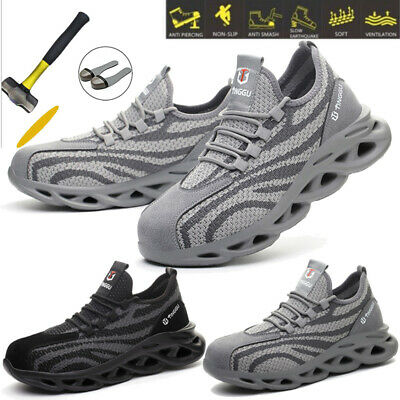 £21.84 • Buy Womens Safety Boots Steel Toe Work Trainers Shoes Lightweight Size Black [uk 8]