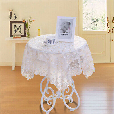 £6.23 • Buy Modern Coffee Tea Table Cloth Lace Tablecloth Hollow Table Cover Decoration TO