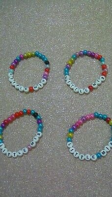 Little Mix Handmade Four Girls Bracelets Only £3.27.free P+p • 3.27£