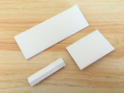 £3.40 • Buy Nintendo Wii Console Door Cover Kit Flap Replacement White Covers Gamecube Ports