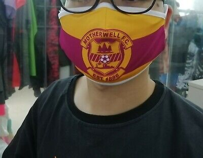 Motherwell Fc  Face Mask • 5£