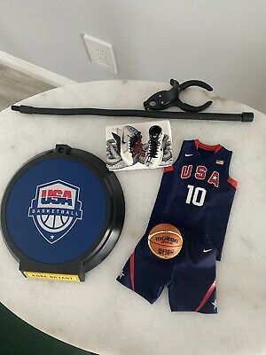 $199 • Buy NBA Lakers 1/6 Kobe Bryant USA Olympic Blue #10 Custom Enterbay  (READ)
