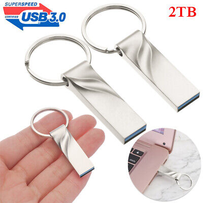$ CDN9.82 • Buy USB 3.0 Flash Drive 2TB High-Speed Data Memory Storage Thumb Stick PC Laptop Hot