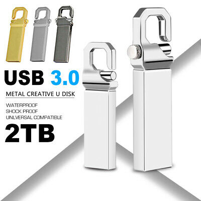 $ CDN9.77 • Buy 2TB Metal USB 3.0 Flash Drive Memory Stick Pen U Disk Swivel Key Thumb PC-Laptop