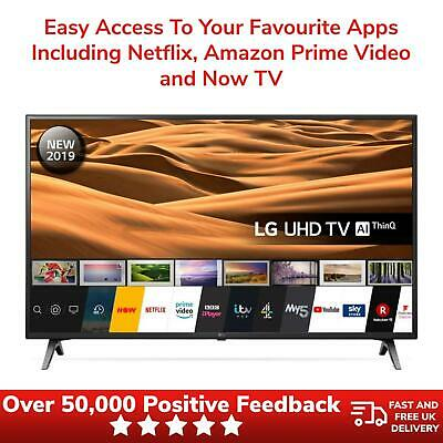 """View Details LG 43"""" Smart TV LED UHD 4K With Freeview Play 2019 Model 43UM7100PLB - Black • 324.99£"""