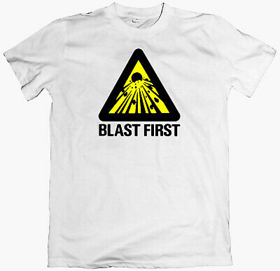 BLAST FIRST! T-shirt, Sonic Youth, Dinosour Jr, Big Black,  Butthole Surfers • 12£