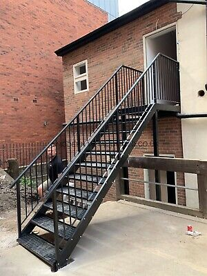 Staircase Fire Escape Internal/External Best Prices On The Market! Free Quote!  • 100£
