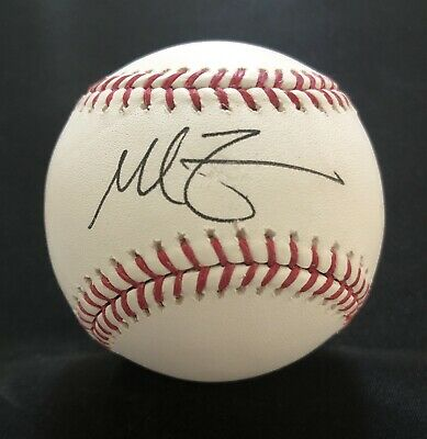 $ CDN19.55 • Buy Mike Zunino BEAUTIFUL Autographed / Signed Baseball -Seattle Mariners Tampa Rays