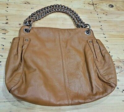 AU79.95 • Buy Womens Oroton Large Tan Leather Costa Handbag