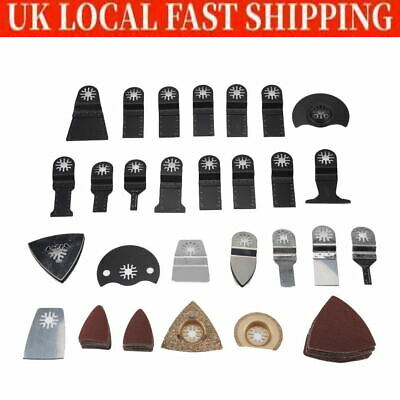 Oscillating Multi Tool  Accessories 100Pcs For FEIN BOSCH Makita UK • 24.49£