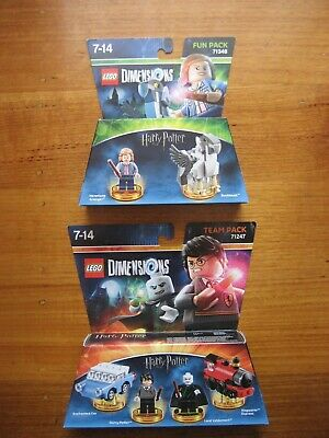 AU65 • Buy LEGO Dimensions Harry Potter Team Pack 71247 & Fun Pack 71348.Brand New &Sealed.