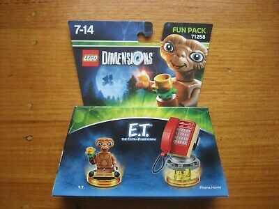 AU55 • Buy LEGO Dimensions E.T. Fun Pack 71258. Brand New And Sealed.