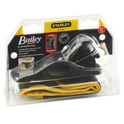 £37.95 • Buy Stanley Bailey STA512020 No9 1/2 Fully Adjustable Block Plane With Storage Pouch