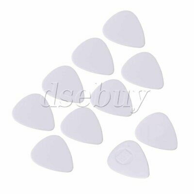 $ CDN6.37 • Buy 10 Pieces 0.96mm Thin White Celluloid Guitar Plectrums Practicing Picks