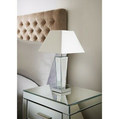 Table Lamp - Luxury Living ''Gatsby Mirror Table Lamp'' • 26.95£