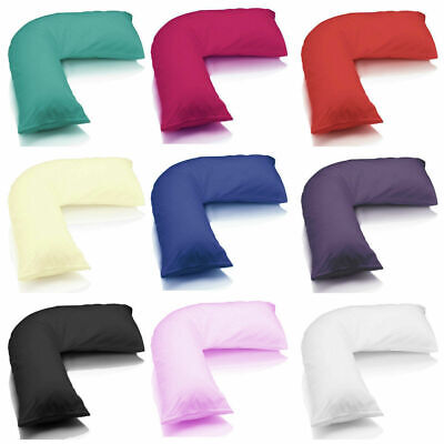 V Shaped Pillow Or Pillow Case Cover Orthopedic Nursing Pregnancy Baby Support • 2.49£