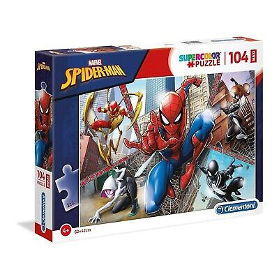 Marvel Spiderman 180 Piece Jigsaw Puzzle From Clementoni Age 7+ Yrs • 9.49£