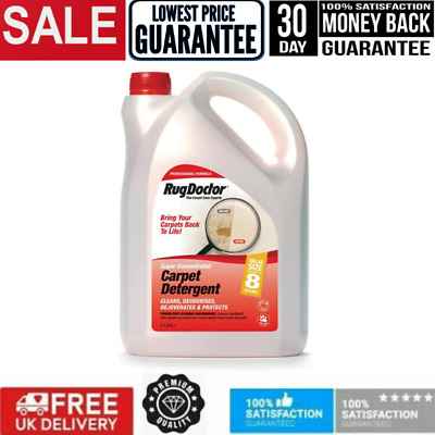 Rug Doctor Carpet Cleaner Shampoo Cleaning Detergent Odour Neutralising 4 Litre • 38£