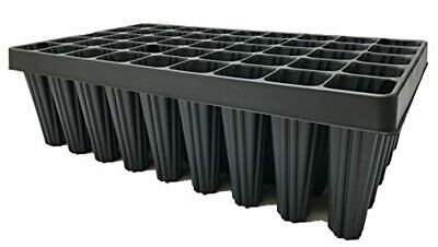 NEW Extra Large Root Trainer Plug Plant Seed Tray 45-Cell Black (Pack Of 2) UK • 18.97£