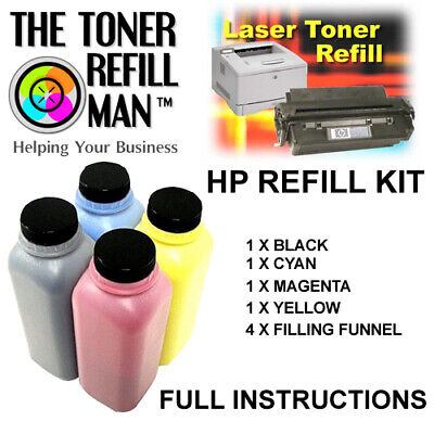 £34.60 • Buy Toner Refill Kit For Use In HP Colour LaserJet Pro W2110A,11A12A,13A, 206A,207A