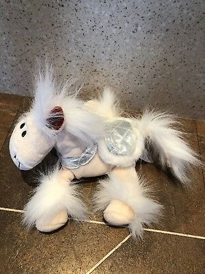 Tesco Chilly Magical Friends Pip The Pony Silver Saddle Soft Toy Christmas 2006 • 14.99£