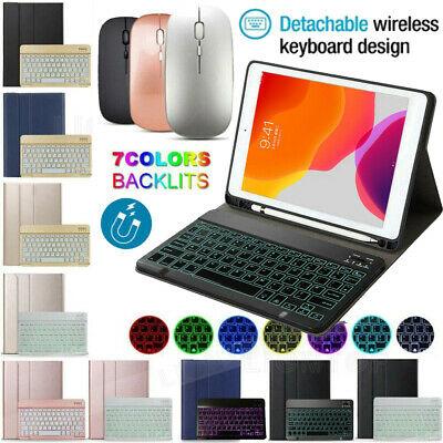 AU52.89 • Buy Backlit Bluetooth Keyboard Case Mouse Set For IPad 5/6/7th Gen Pro 11 Air 1/2/3