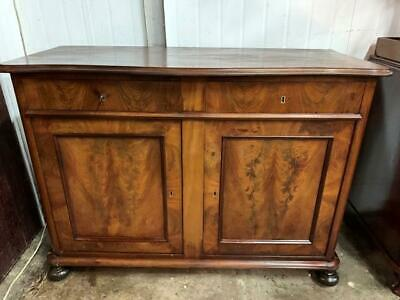 AU950 • Buy G34024 Vintage French Style Flame Mahogany Sideboard Cupboard