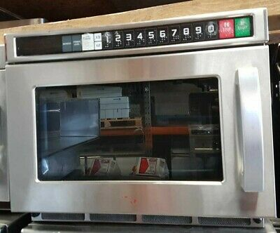 Commercial 1800W Microwave Oven Heavy Duty Programmable • 350£