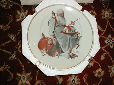 $ CDN42.67 • Buy Norman Rockwell  Santa's Helpers   Knowles Collector's Plate 1979 In Box
