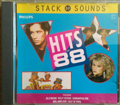 Hits Of.88 CD Album Stack Of Sounds Sam Fox Mel And Kim Pat And Mick. BVSMP  PWL • 12.50£