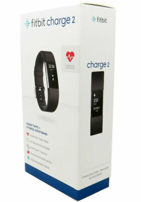 $ CDN159.99 • Buy Fitbit Charge 2 Heart Rate & Fitness BLACK - Wristband LARGE