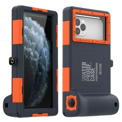 Shellbox Diving Case Waterproof 50FT Underwater Camera Cover For IPhone Samsung • 23.49£
