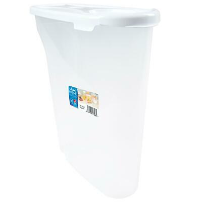 £6.23 • Buy Wham Cuisine Large Hardwearing Food Cereal Storage Dispenser With Lid, Clear, 5L
