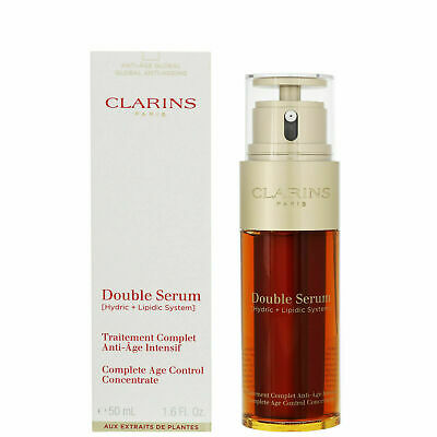 Clarins Double Serum 50ml Complete Age Control Concentrate Firming Anti Ageing • 23.95£