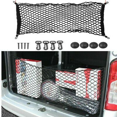 $19.99 • Buy Parts Accessories Car Trunk Cargo Net Holder Elastic Mesh Organizer Truck SUV