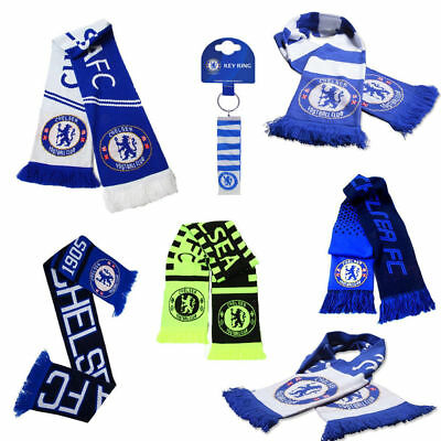 Chelsea Scarf - Supporters Soccer Club Gift Scarves - NEW Official Football Team • 11.98£