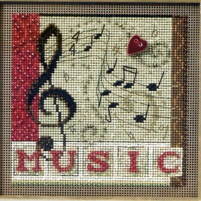 $12.99 • Buy Melody Beaded Cross Stitch Kit Mill Hill 2011 Buttons & Beads Autumn