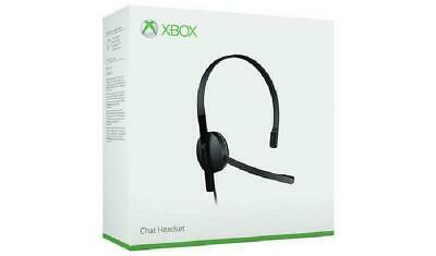 AU50.58 • Buy Microsoft Xbox One Chat Headset With Mic Gaming Headset For Wireless Controller