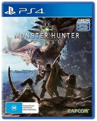 AU37.95 • Buy Monster Hunter: World - PS4 Aus Game